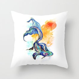 In Streams Throw Pillow