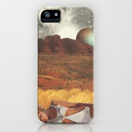 the life and death of stars - collab with sammy slabbinck iPhone Case