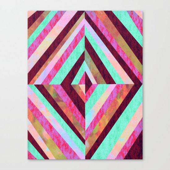 PATTERN {Diamond 001} Canvas Print