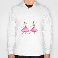 ballet Hoodies featuring Ballet by K. Fry Illustration