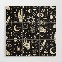 Witchcraft Wood Wall Art