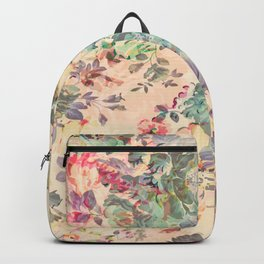 Flower Abstraction Backpack
