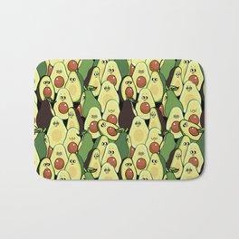 Social Avocados Bath Mat