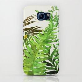 Watercolor Plants iPhone Case