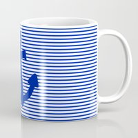 nautical Mugs featuring Nautical by The Wellington Boot