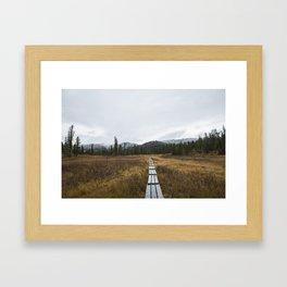 Road to Ergaki Framed Art Print