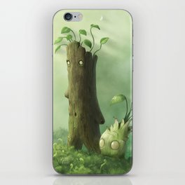 Plant Folk iPhone Skin