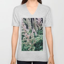Flowers in the Garden Unisex V-Neck