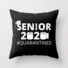 Class of 2020, Senior Year I - Quarantined Throw Pillow