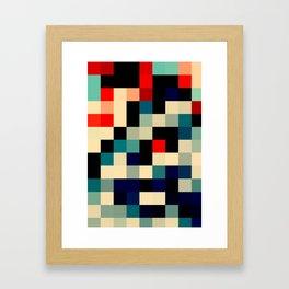 Patchwork II Framed Art Print