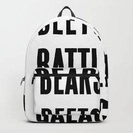 Bears Beets Battlestar Galactica Backpack