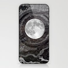 Moon Glow iPhone & iPod Skin