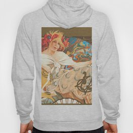 Alphonse Mucha (Alfons Mucha) abst-59 Hoody