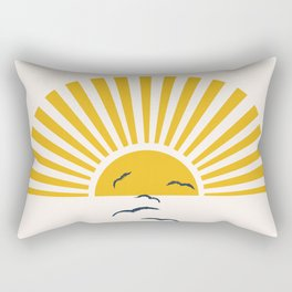 Minimalistic Summer I Rectangular Pillow