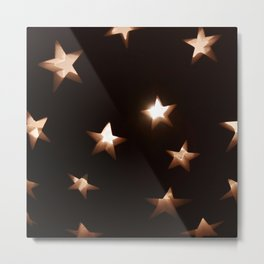 Hallow Stars Metal Print