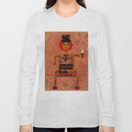 Steampunk Pumpkin Long Sleeve T-shirt