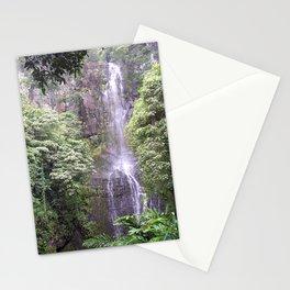 Maui Hawaii - Haleakala National Park Waterfall Stationery Cards