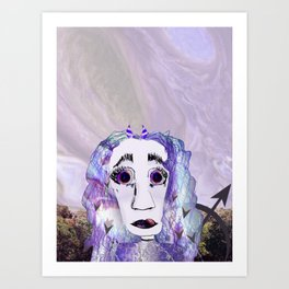 Planet Sagittarius Art Print