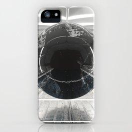 warped orb iPhone Case