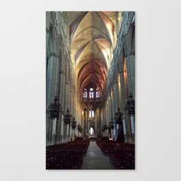 Cathedral loneliness Canvas Print