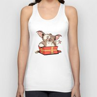 gizmo Tank Tops featuring Gizmo Gift by The Drawbridge