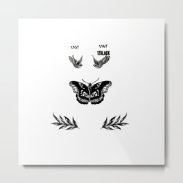 Harry's tattoo Metal Print