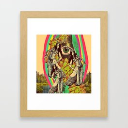 When we travel Framed Art Print