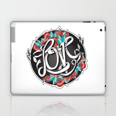 Love -Ribbon-Word Laptop & iPad Skin