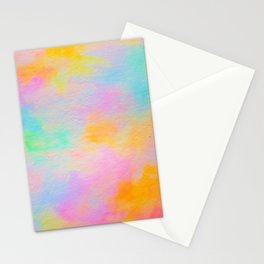 Neon Medley Stationery Cards