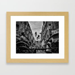 Dear Kolkata Framed Art Print