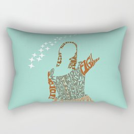tara maclay under your spell buffy Rectangular Pillow