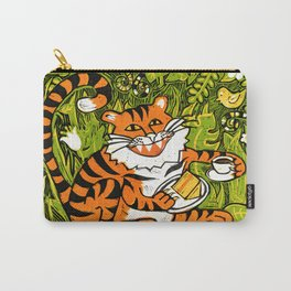 Tiger teatime Carry-All Pouch