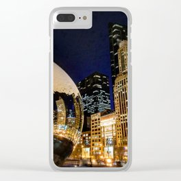The Chicago Bean #4 Clear iPhone Case