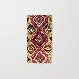 Kurdish Sivas East Anatolian Yastik Print Hand & Bath Towel