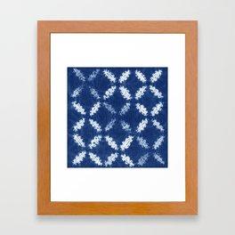 Shibori One Framed Art Print