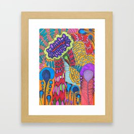 Pattern Dream Framed Art Print