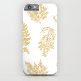 Hammond in Gold iPhone Case