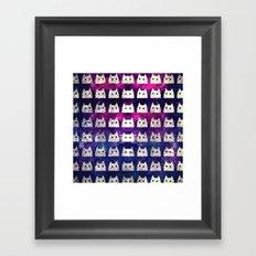 cat-542 Framed Art Print