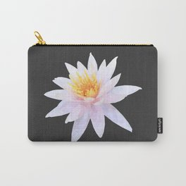 Geometric Lotus Flowers Carry-All Pouch