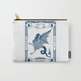 Year of the Cockatrice (Porcelain) Carry-All Pouch