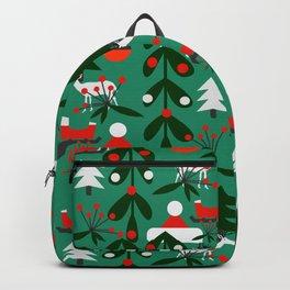 Christmas evergreens Backpack