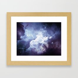 A Sky Made of Diamonds Framed Art Print