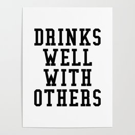 Drinks Well With Others Poster