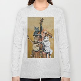 Cat Quartet Long Sleeve T-shirt