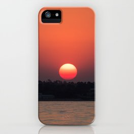 Really red sun iPhone Case