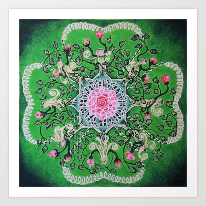 Rose tree / Roosipuu Art Print