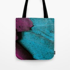 MAGENTA AND TURQUOISE FEATHER CLUSTER PATTERN Tote Bag