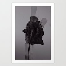 leaf five Art Print