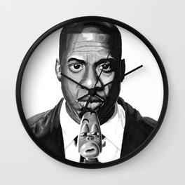 Jay-Z & Jaybo Wall Clock