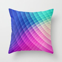 Abstract Colorful Art Pattern (LTBG - Low poly) - Texture aka. Spectrum Bomb! (Photoshop Colorpicker Throw Pillow